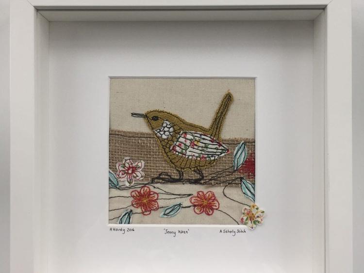 Framed Jenny wren - Image 0