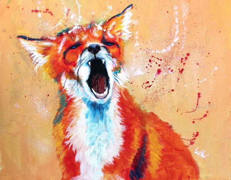 Sleepy Fox - Image 0