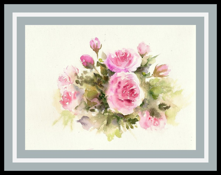 Bunch of roses - Image 0