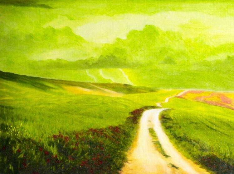 Green Storm Sky - Image 0