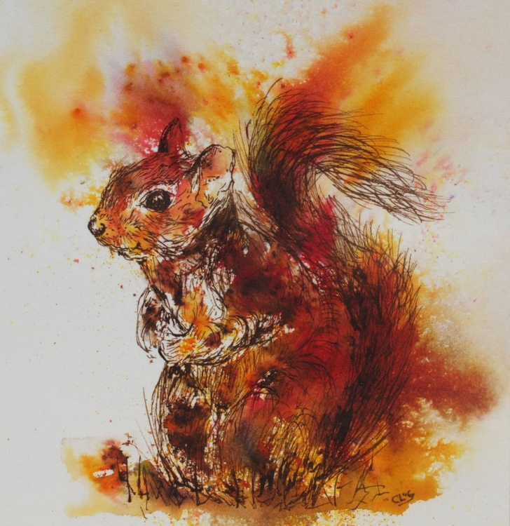 Miniature Red Squirrel - Image 0