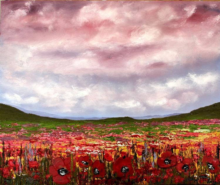 """Poppy miracle III"". oil on canvas 50х60cm - Image 0"