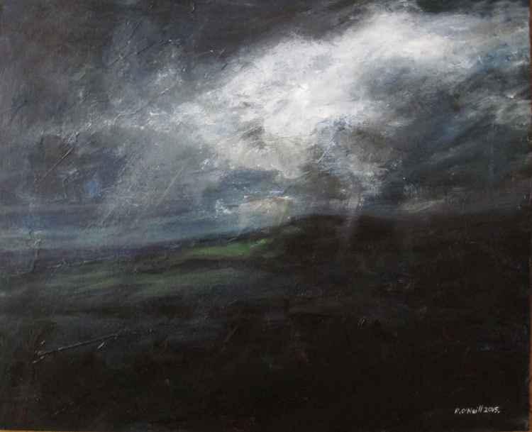 One Stormy Night 50.8x40.6cm -