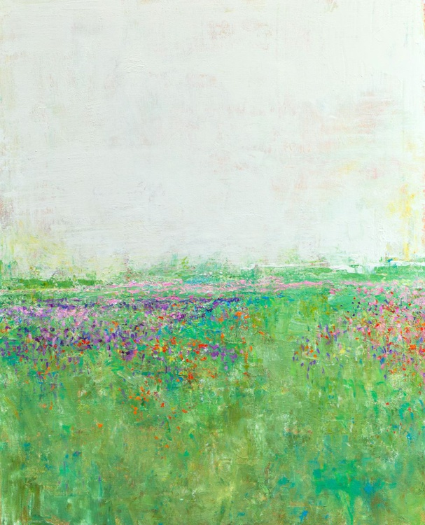 Soft Field Colors 24x30 inches - Image 0