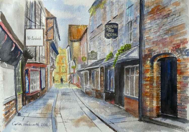 The Shambles, York. -