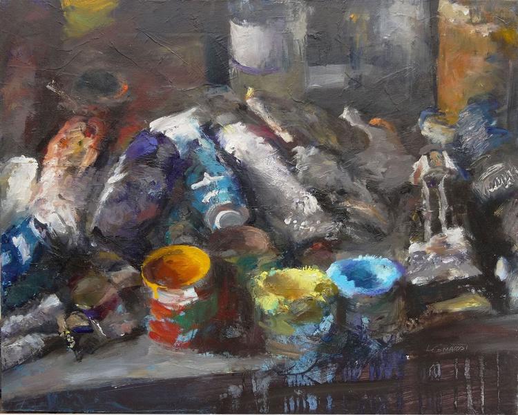 Pots,tubes ,atelier - Image 0