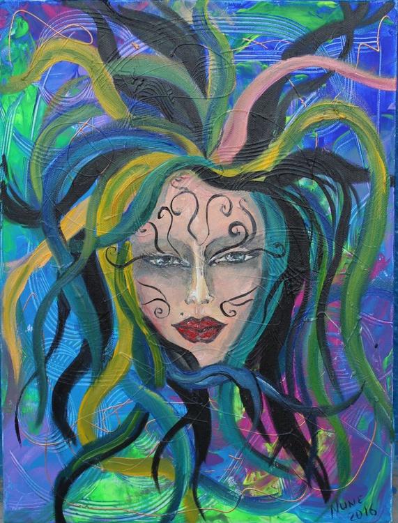 Gothic girl portrait - Image 0