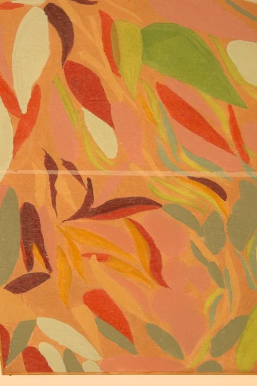 Floating Leaves Gold 2 - Image 0