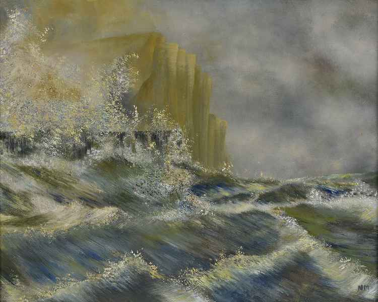 Waves and Pier, West Bay, Dorset