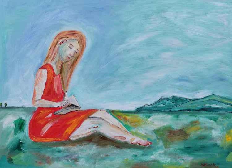 Lady Reading -