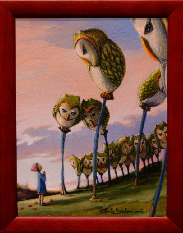 THE GROVE OF THE OWLS. - Image 0