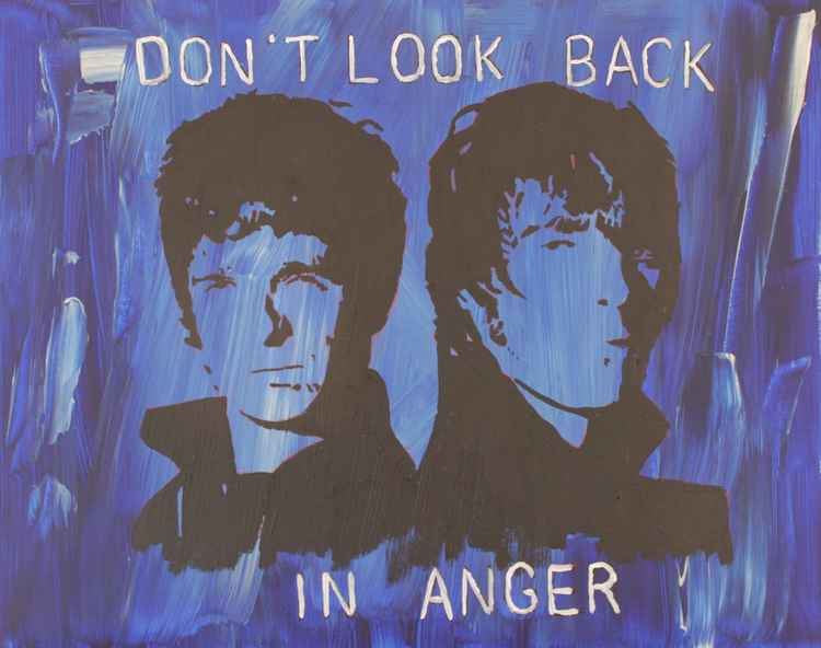 Oasis, Don't look back in anger -