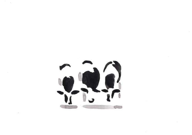 Three cows 3021B