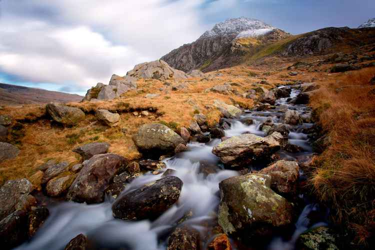 Mountain Stream, Tryfan, Snowdonia