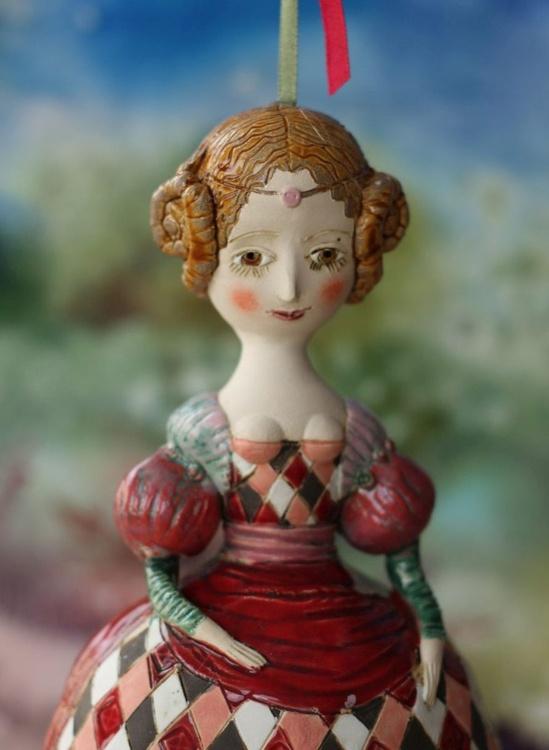 Hermia. From Midsummer Night's Dream Ceramic illustration project by Elya Yalonetski - Image 0