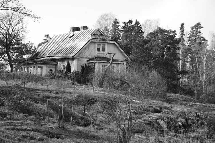 Finnish Cottage in the Thaw -
