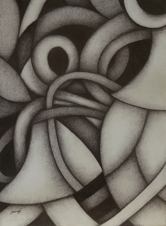 Abstract in gray - Image 0