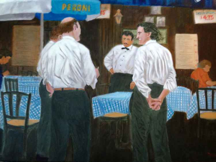 WAITERS OF MULBERRY STREET