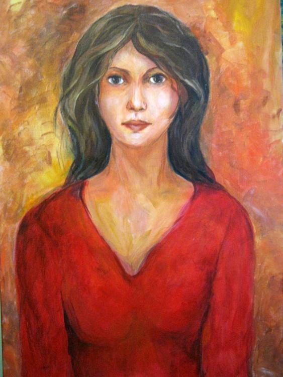 Portrait of Woman - Image 0