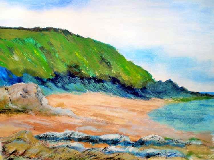 Quiet Beach, Hallsands. -