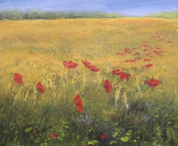 Poppies  and Corn -
