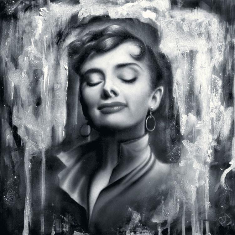 Audrey Hepburn, 1956 - Image 0