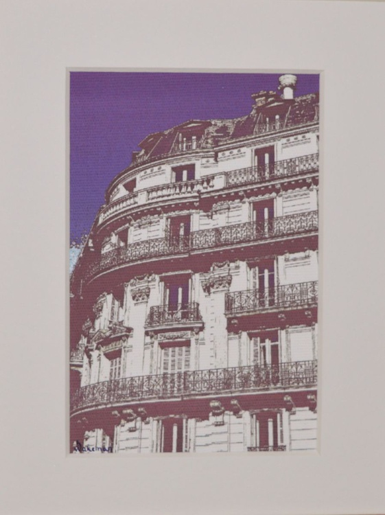 Balconies Blue - Image 0