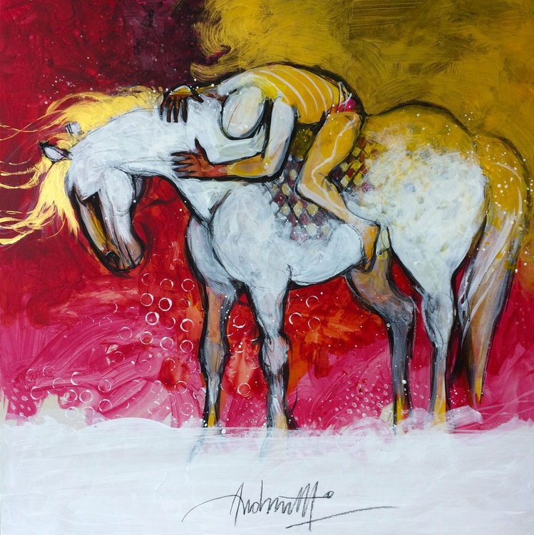 Il cavallo ed il suo uomo / The horse and his man - Image 0