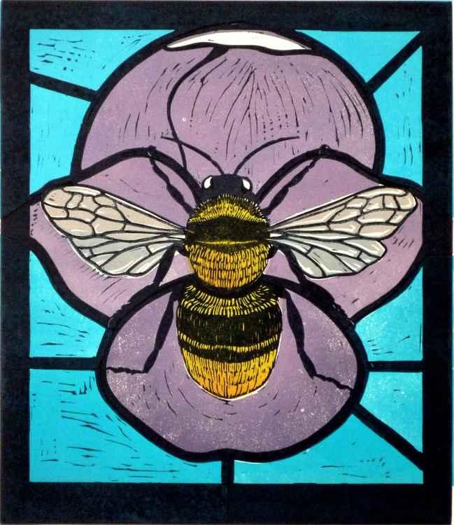 Bee Mosaic I -