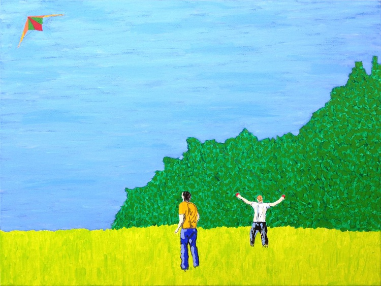 Kite on the meadow - Image 0