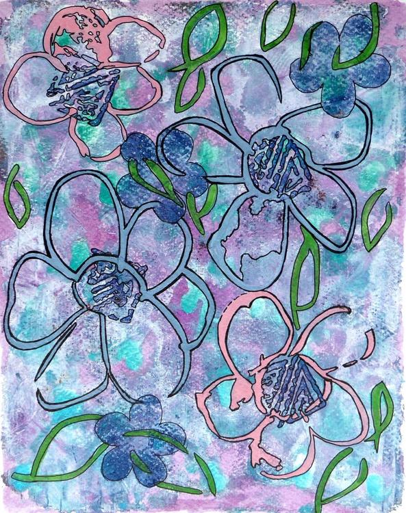 Floating flowers - Image 0