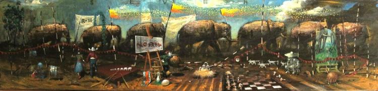 Seven  elephants - Image 0