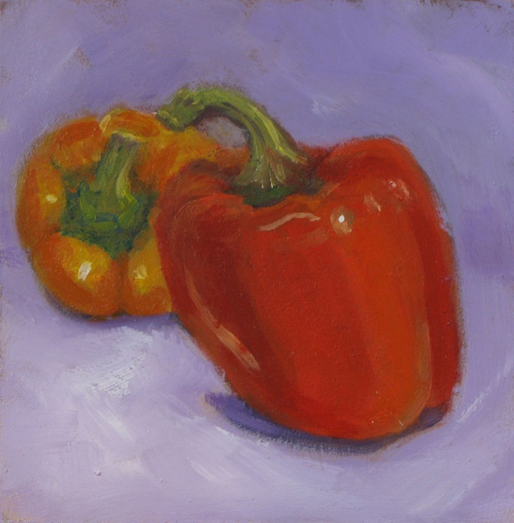 Daily Painting - Peppers - Image 0