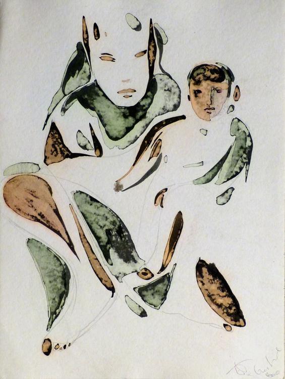 Maternity 4, 36x48 cm - Image 0