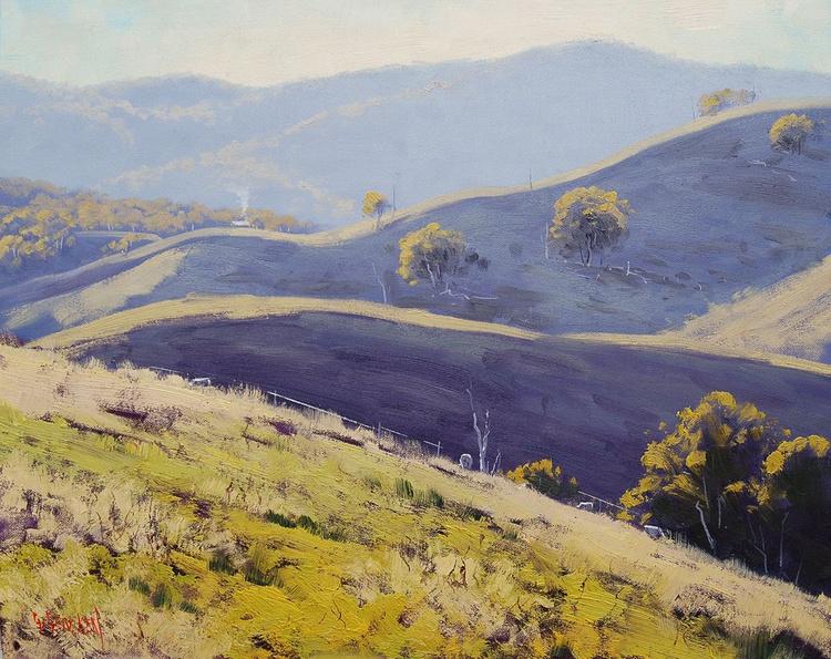 Afternoon light Kanimbla hills - Image 0