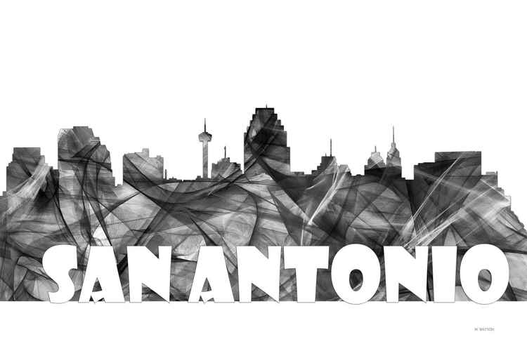 San Antonio, Texas Skyline BG2 -