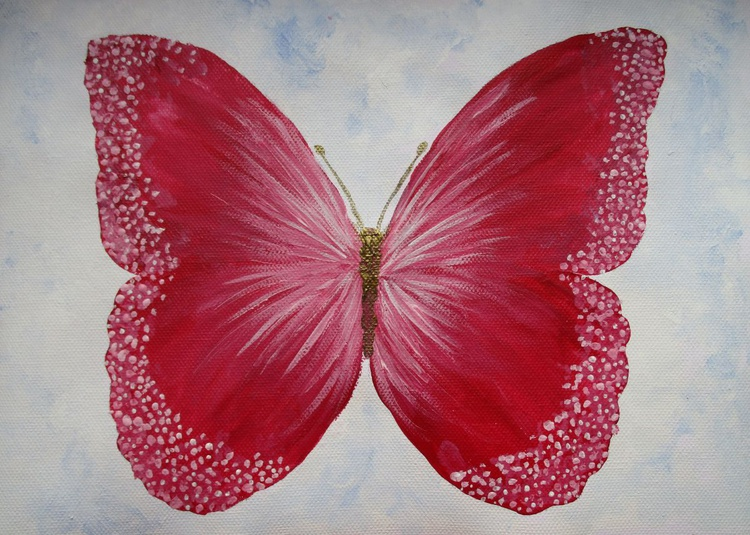 Pink Butterfly - Image 0
