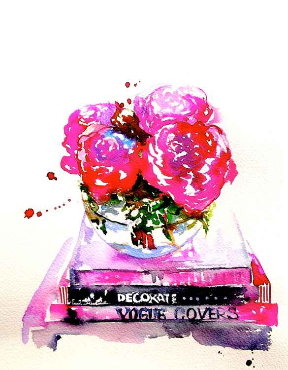 Still Life with a Peonies