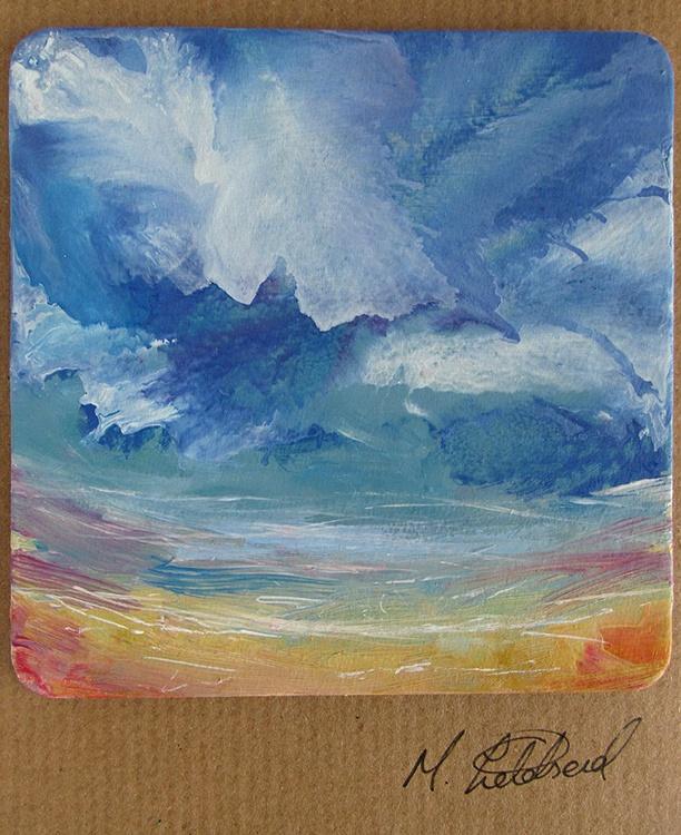 Blue Skies at Filey - Image 0