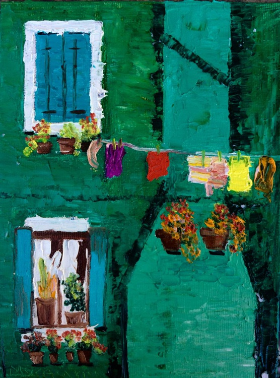 Laundry day at Burano street - Image 0