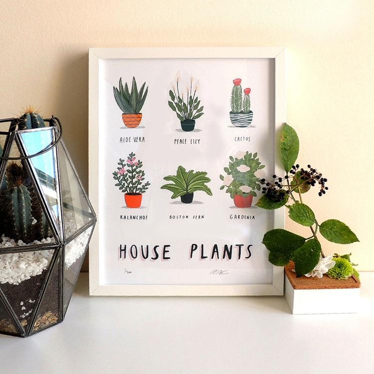 House Plants print - Image 0