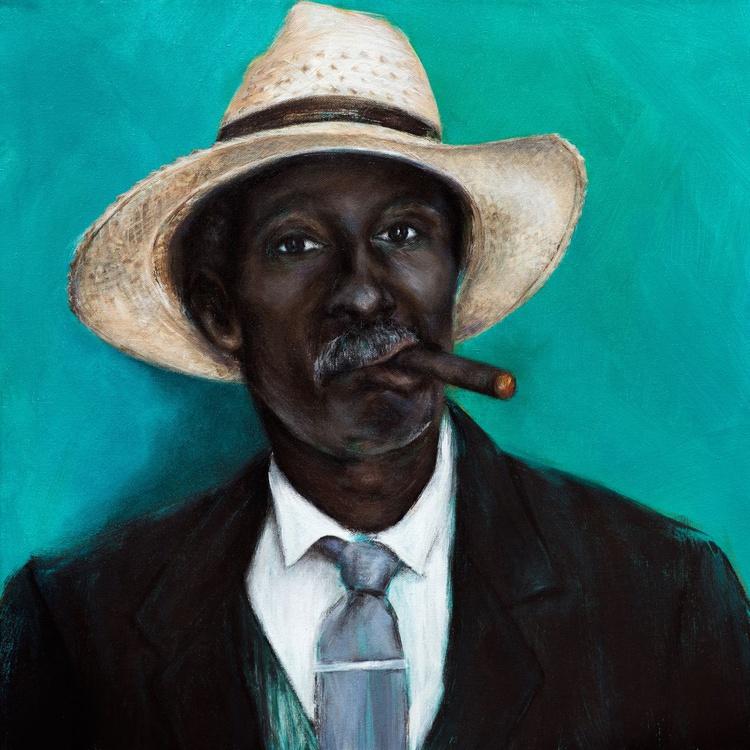 Man with Cigar - Image 0