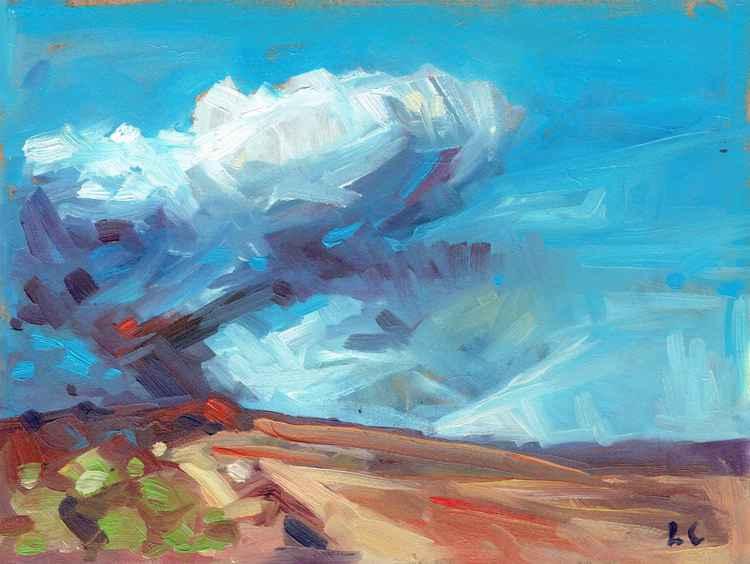Lasgarn Clouds, Blaenavon -