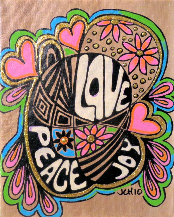 Love Peace & Joy - Image 0