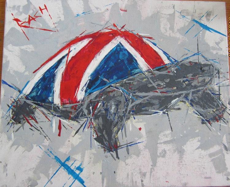 Union Jack Patriotic Tortoise - Image 0