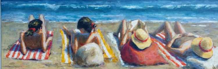 Beach reader -