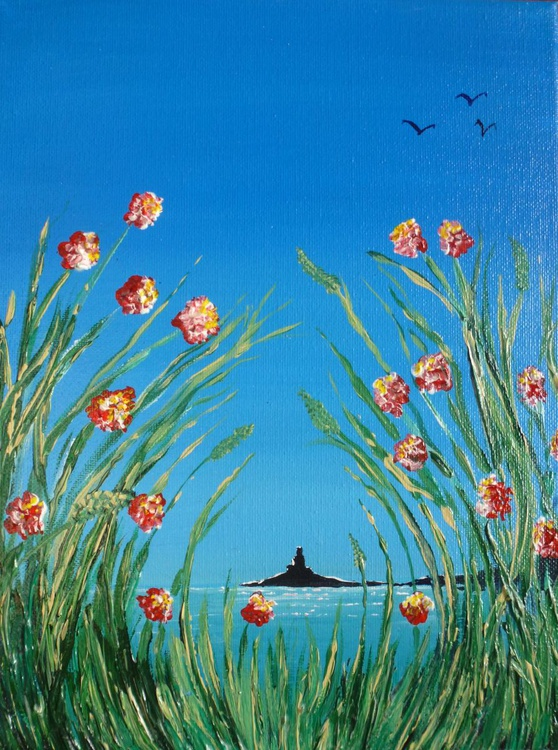 Sea through the flowers - Image 0