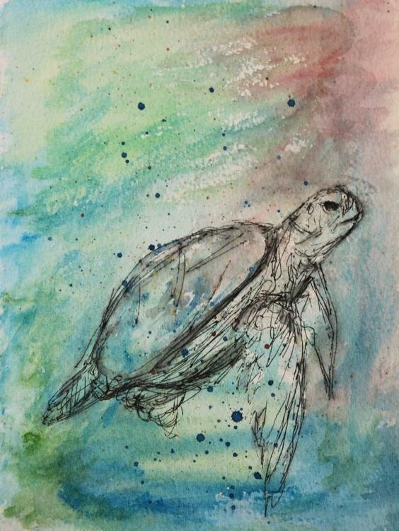 swimming turtle - Image 0