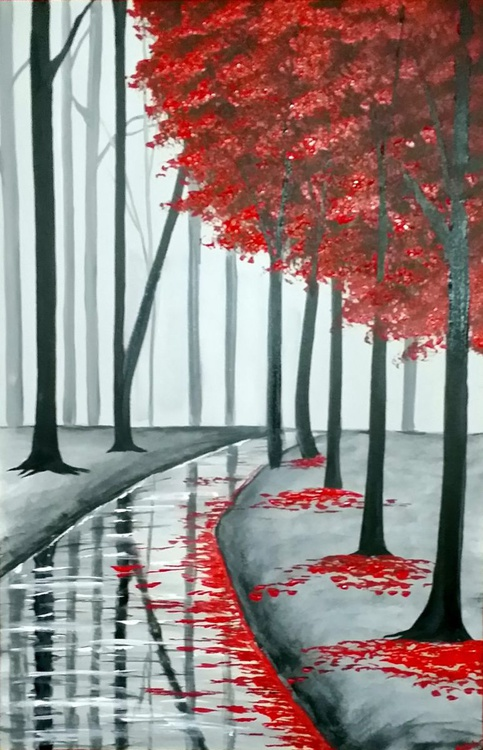 Red Tree Forest (reserved for Ian) - Image 0