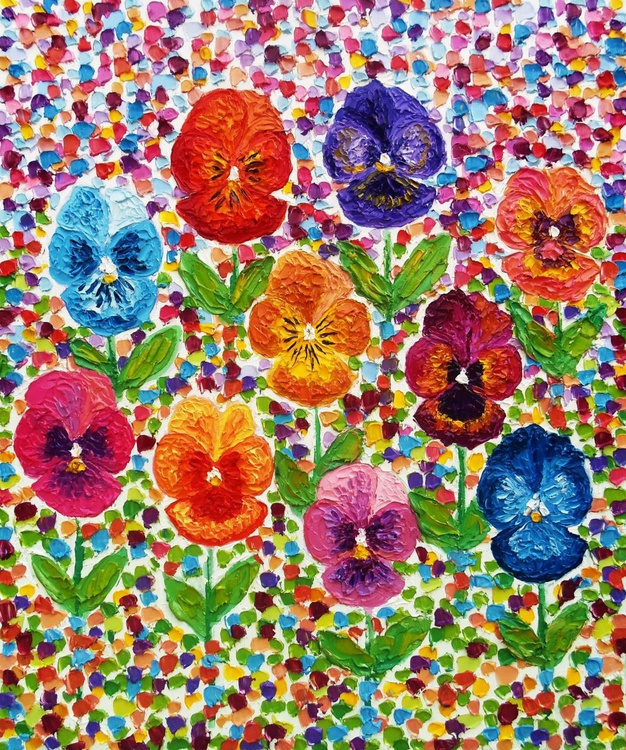 Pansy patch - Image 0